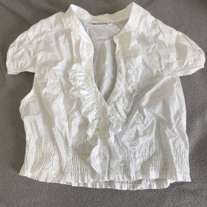Melega Bodysuit Blouse white cotton