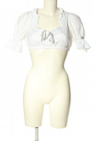 Dirndl.com Traditional Blouse white elegant