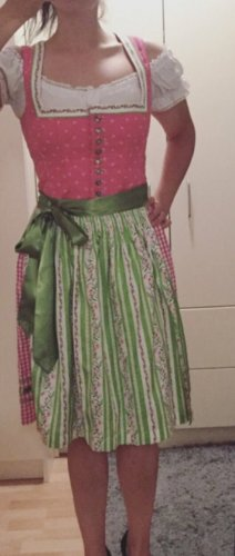 Country Line Dirndl pink-grass green
