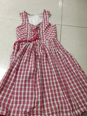 Country Life Dirndl rosso lampone