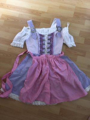 Folkloristische rok paars-roze