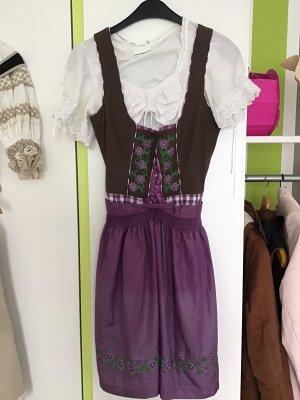 Stockerpoint Vestido Dirndl lila-marrón
