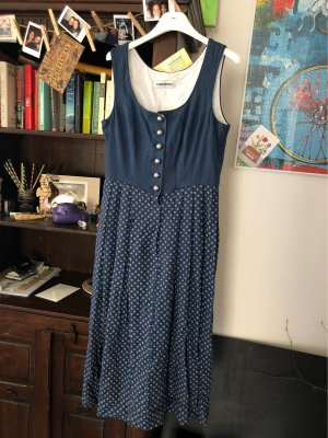 Lodenfrey Vestido Dirndl azul acero-azul
