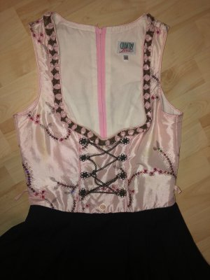 Country Line Dirndl black-light pink