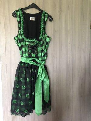 Dirndl grün/schwarz