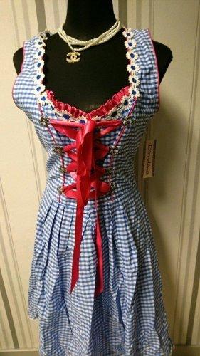 Dirndl Kleid (B70021) Größe 40/42 ohne Schürze