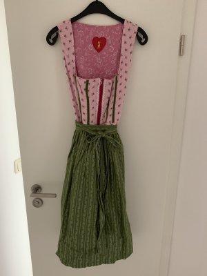 alm sach Dirndl pink-green