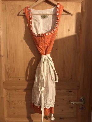 Wolperdinger Dirndl blanc-orange