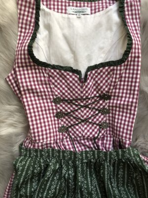 Landhaus by C&A Dirndl raspberry-red-forest green
