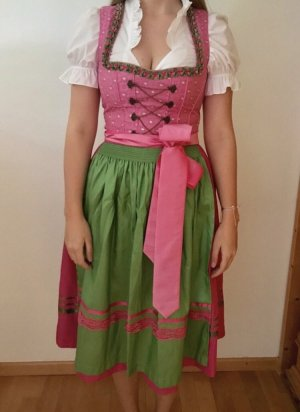 Country Line Dirndl pink-green