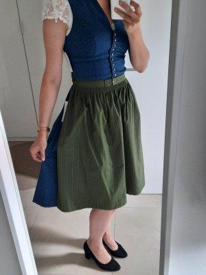 Gamsbock Dirndl bleuet-vert