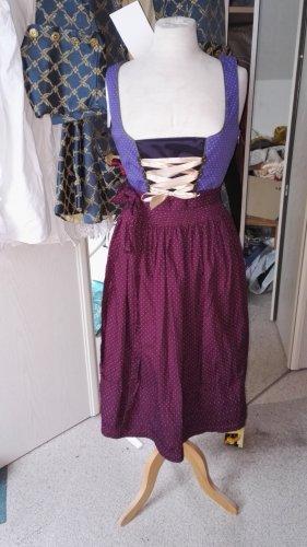 Vestido tradicional multicolor Algodón