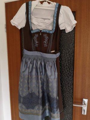 Spieht & Wensky Dirndl marrone-blu
