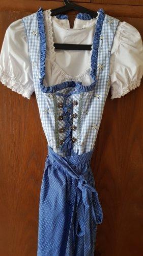 Vestido Dirndl azul claro