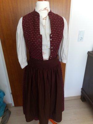 Alphorn Dirndl multicolored cotton