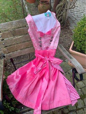 Turi Landhaus Vestido Dirndl rosa