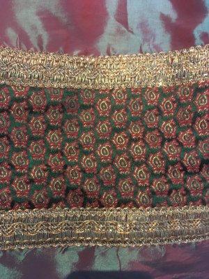 Tradycyjny fartuch  Wielokolorowy Tkanina z mieszanych włókien