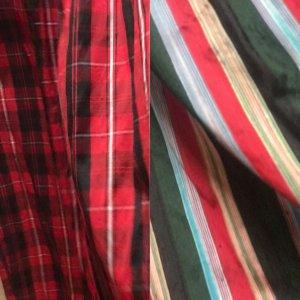 100% Fashion Delantal folclórico multicolor