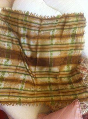 Neckerchief multicolored silk