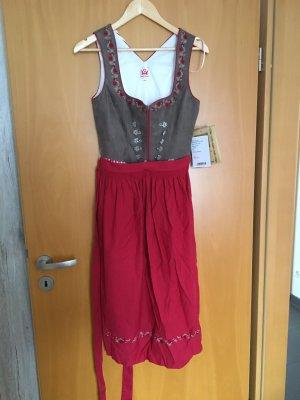 Spieth & Wensky Dirndl light brown-red