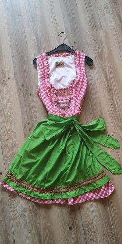 Stockerpoint Dirndl rosa-verde