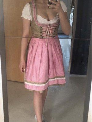 Dirndl stockerpoint Trachten Kleid Rock Schürze bayrisch Bluse Bh