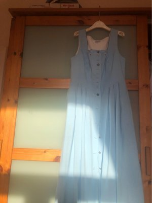 Peter Anderl Dirndl azure cotton