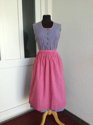 Dirndl jasny fiolet-różowy neonowy