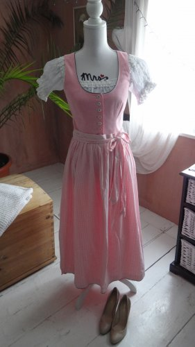 Berwin & Wolff Dirndl white-light pink cotton