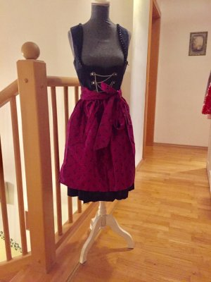 German Princess Dirndl black-pink