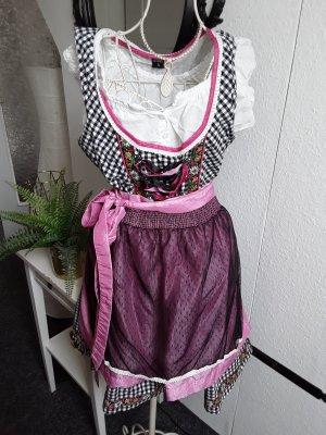 Hailys Dirndl noir-rose