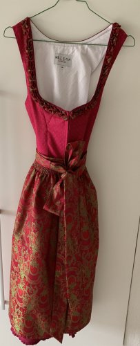 Melega Dirndl raspberry-red