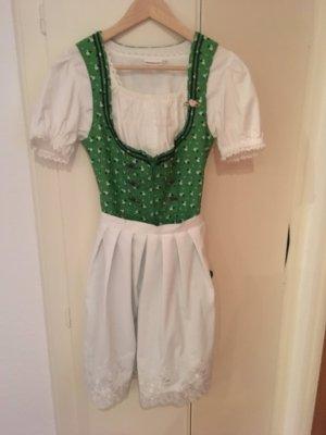 Stockerpoint Traditionele jurk groen-wit