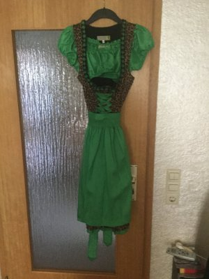 Dirndl multicolore polyester