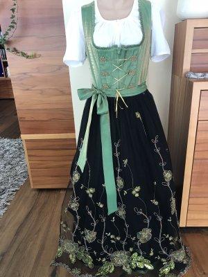 Turi Landhaus Dirndl noir-vert