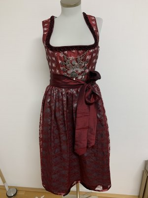 Dirndl weinrot Country Line