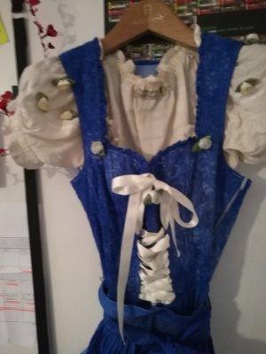 Almenrausch Evening Dress cornflower blue