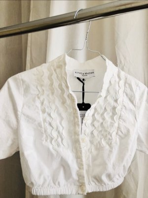 Kinga Mathe Traditional Blouse white