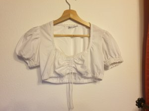 Stockerpoint Traditional Blouse white cotton