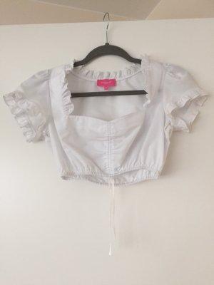 Krüger MADL Folkloristische blouse wit
