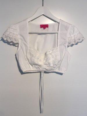 Krüger Traditional Blouse white polyester
