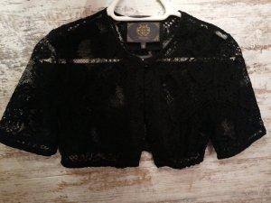 Alpin de luxe Blusa tradizionale nero