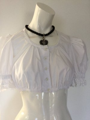 Isar Trachten Traditional Blouse white