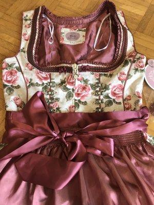 MarJo Robe à corsage multicolore