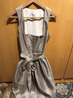 bergweiss Vestido corsage color plata-gris claro