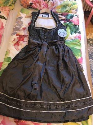 MarJo Corsage Dress anthracite-dark grey