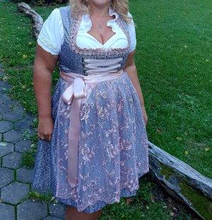 Sukienka z gorsetem szary