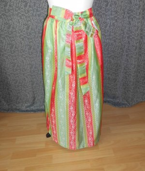 Traditional Apron multicolored mixture fibre