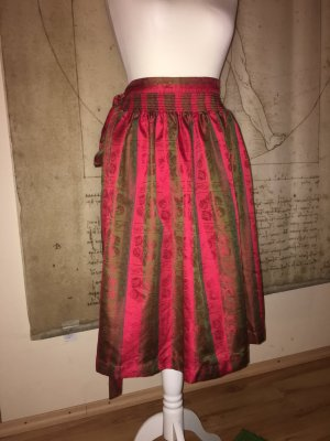Krüger Traditional Dress bordeaux-neon red