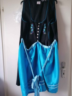 Dirndl black-blue